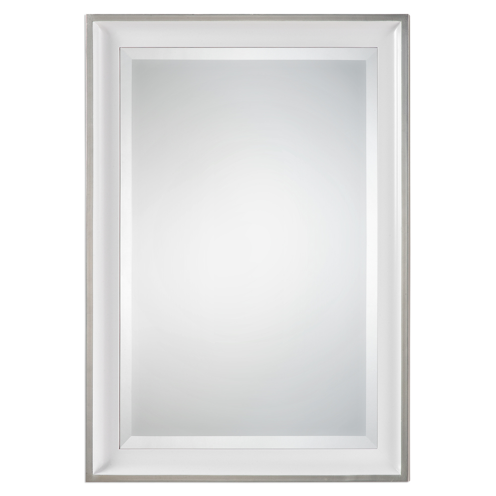 Uttermost Company - Lahvahn White Silver Mirror