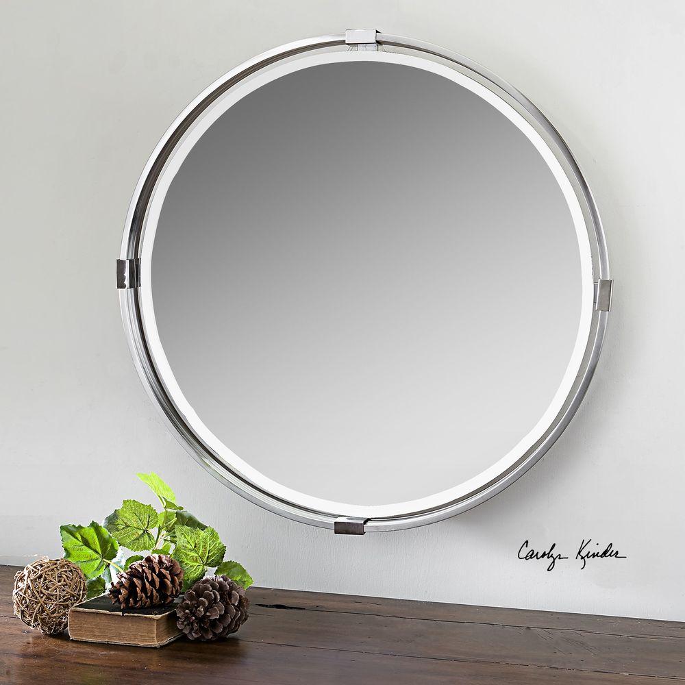 Uttermost Company - Tazlina Round Mirror