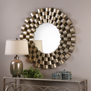 Thumbnail of Uttermost Company - Taurion Round Mirror