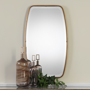Thumbnail of Uttermost Company - Canillo Antiqued Gold Mirror