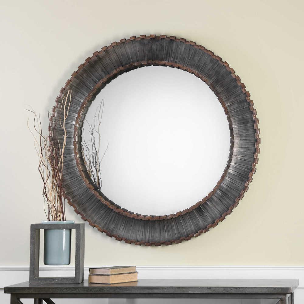 Uttermost Company - Tanaina Round Mirror