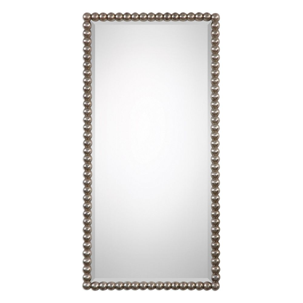 Uttermost Company - Serna Antiqued Silver Mirror