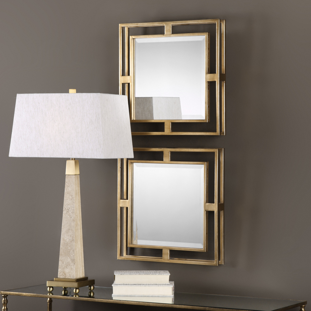 Uttermost Company - Allick Square Mirrors, Set/2