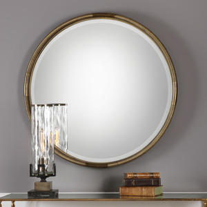 Thumbnail of Uttermost Company - Finnick Round Mirror