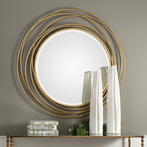 Thumbnail of Uttermost Company - Whirlwind Round Mirror