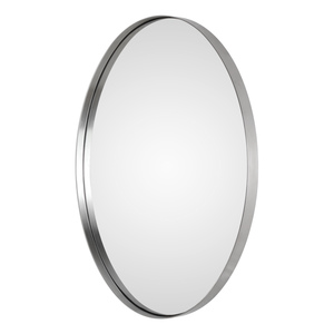 Thumbnail of Uttermost Company - Pursley Brushed Nickel Oval Mirror