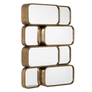 Thumbnail of Uttermost Company - Canute Modern Gold Mirror