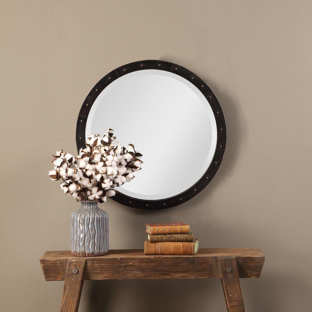 Uttermost Company - Beldon Round Mirror