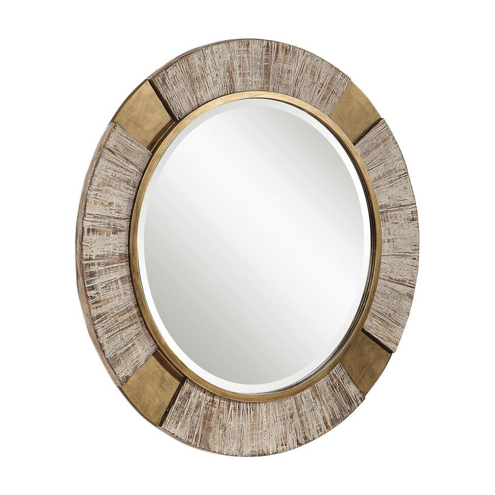 Uttermost Company - Reuben Round Mirror