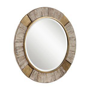 Thumbnail of Uttermost Company - Reuben Round Mirror
