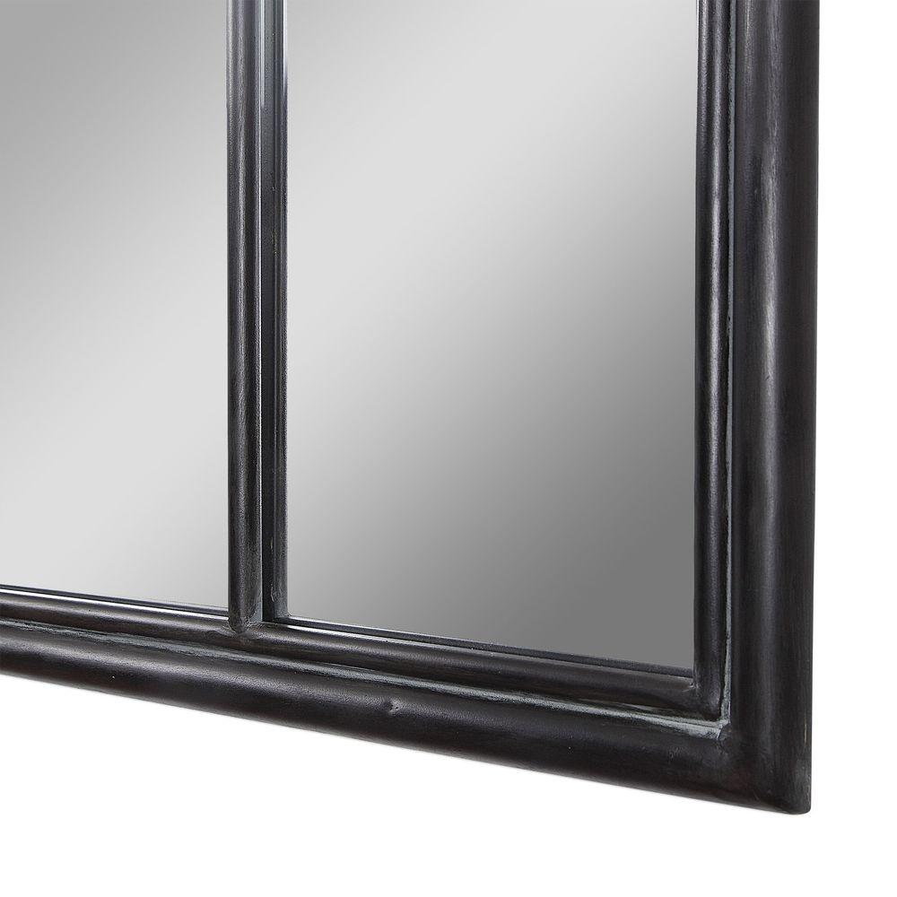 Uttermost Company - Lyda Aged Black Arch Mirror