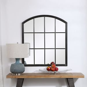 Thumbnail of Uttermost Company - Lyda Aged Black Arch Mirror