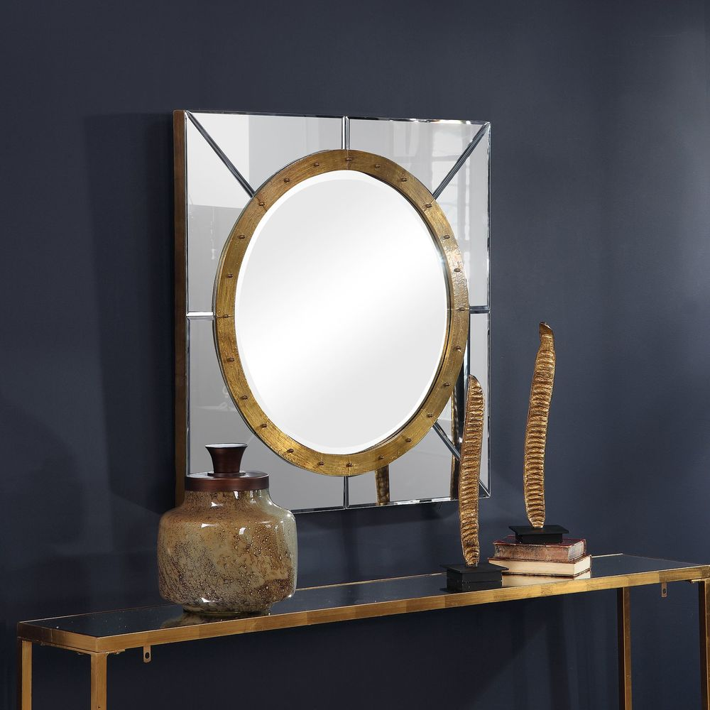 Uttermost Company - Maya Square Mirror