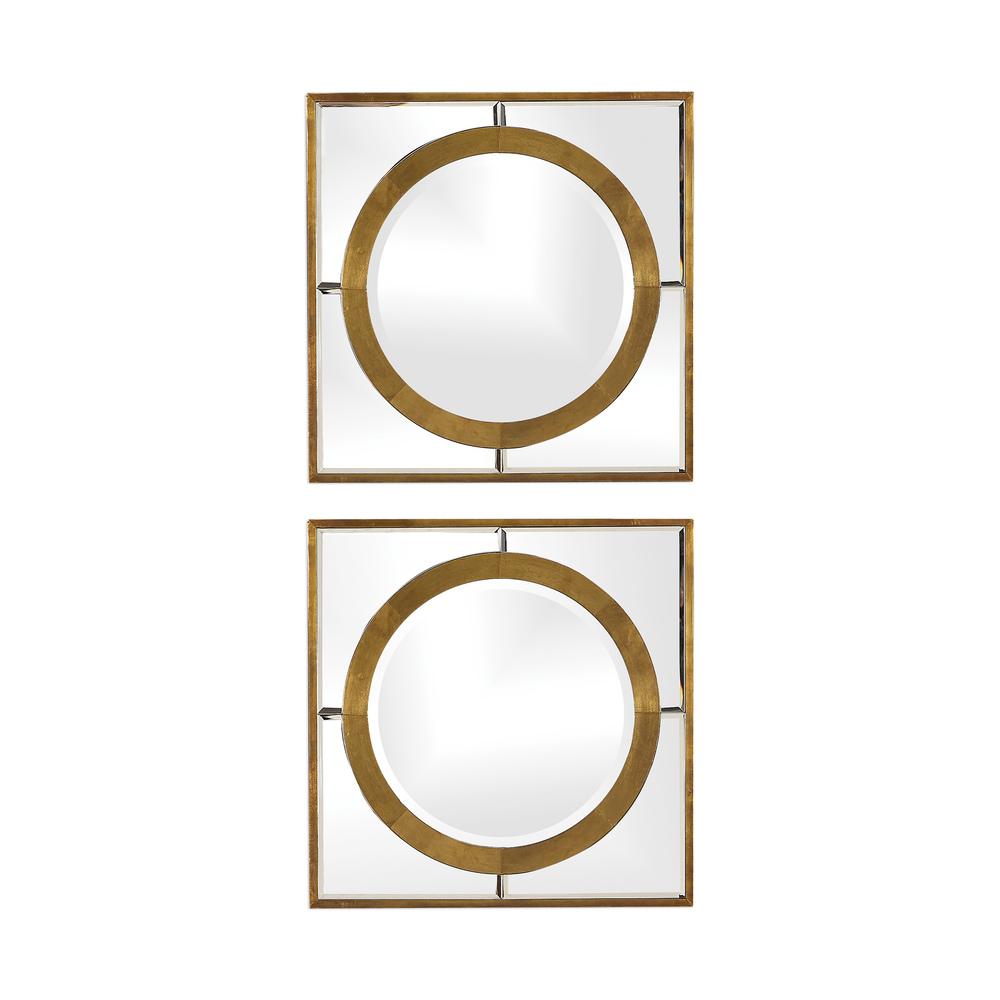 Uttermost Company - Gaza Square Mirrors, Set/2