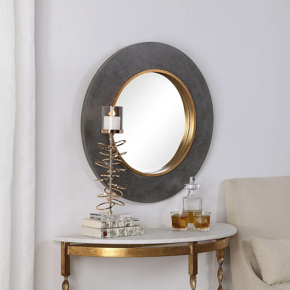 Uttermost Company - Saul Round Mirror