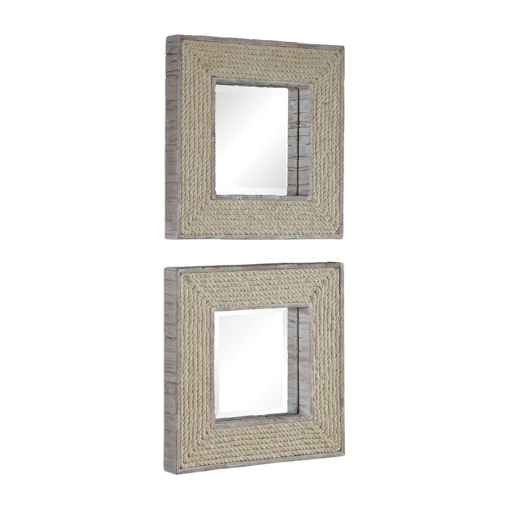 Uttermost Company - Cambay Square Mirrors, Set/2