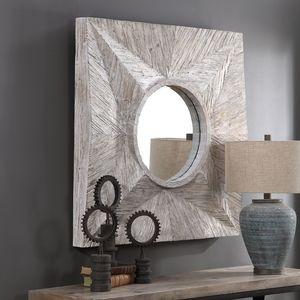 Thumbnail of Uttermost Company - Huntington Light Gray Square Mirror