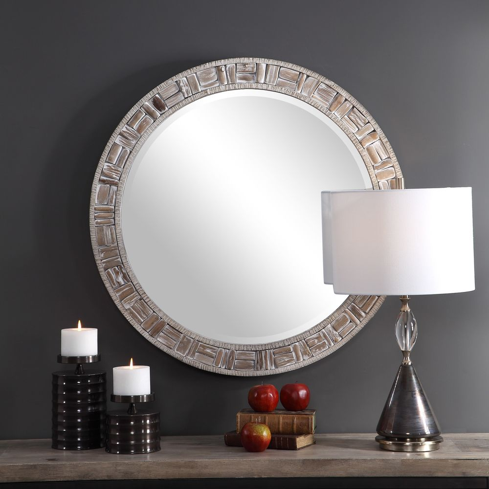Uttermost Company - Del Mar Round Mirror