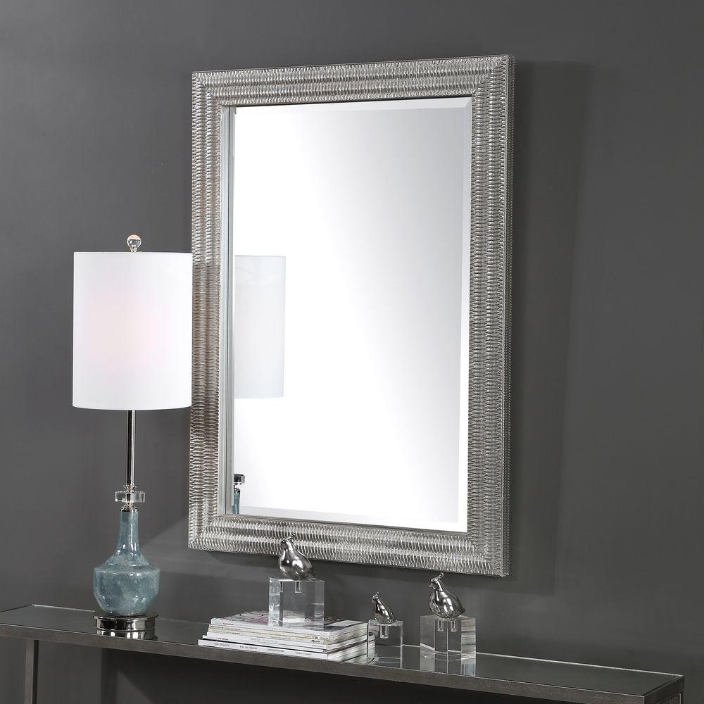 Uttermost Company - Alwin Silver Mirror