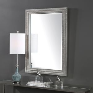 Thumbnail of Uttermost Company - Alwin Silver Mirror