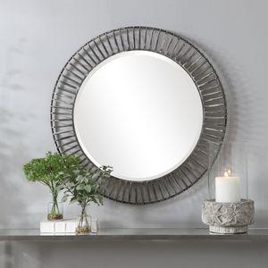Thumbnail of Uttermost Company - Schwartz Round Mirror