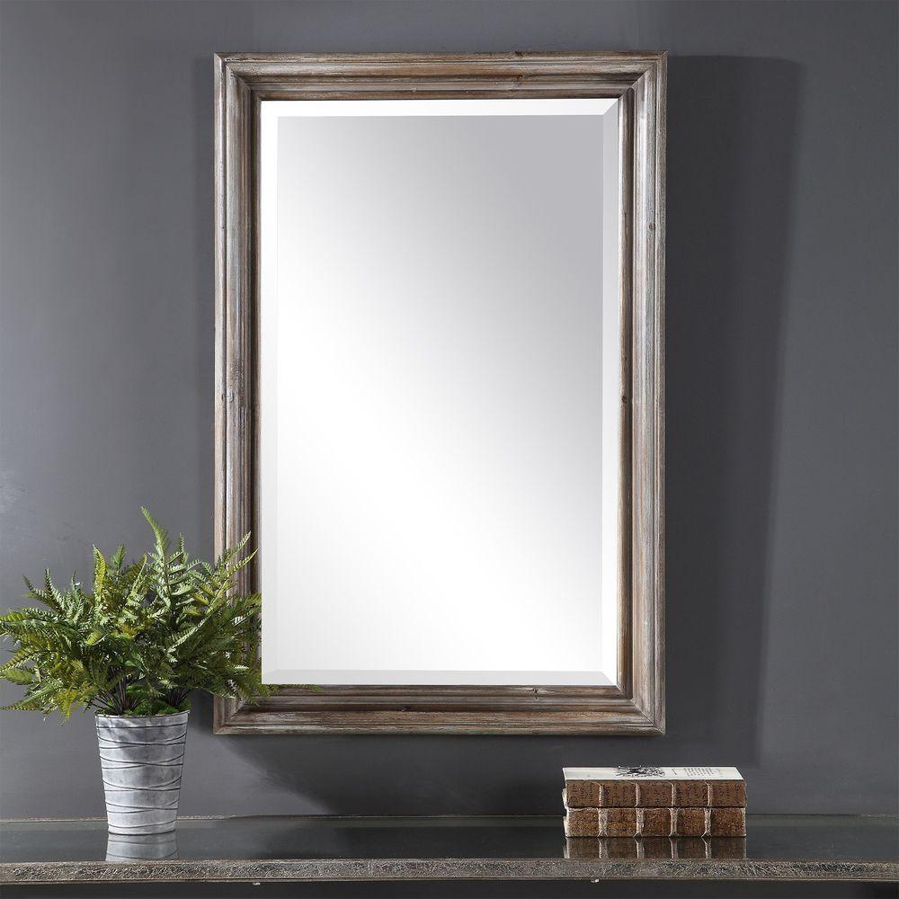 Uttermost Company - Fielder Distressed Vanity Mirror