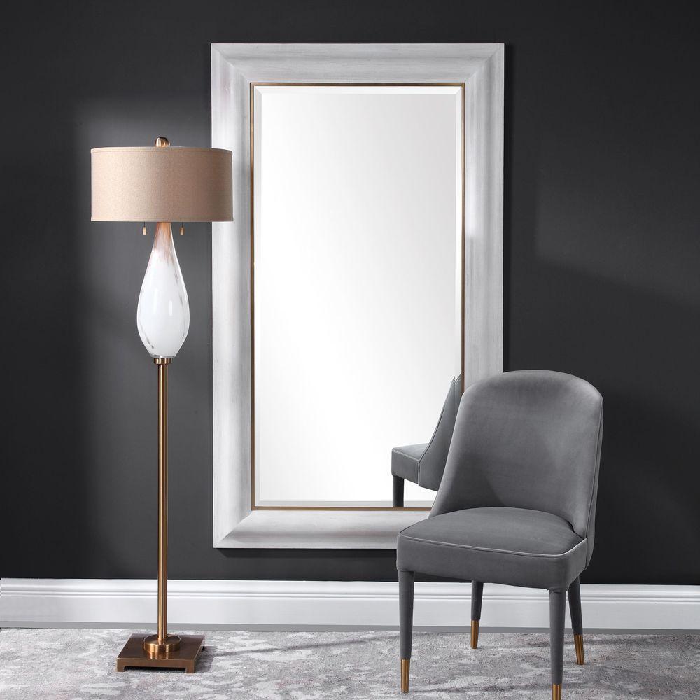 Uttermost Company - Piper Large White Mirror