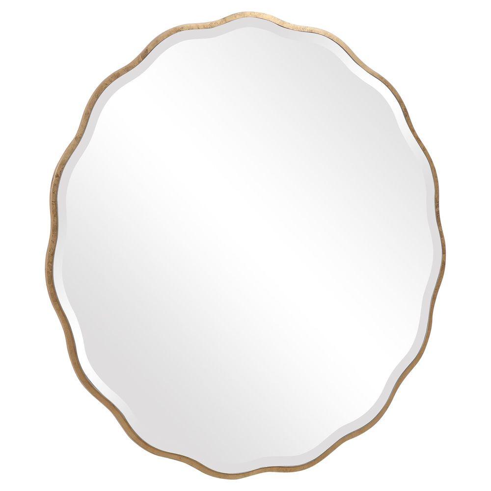 Uttermost Company - Aneta Gold Round Mirror