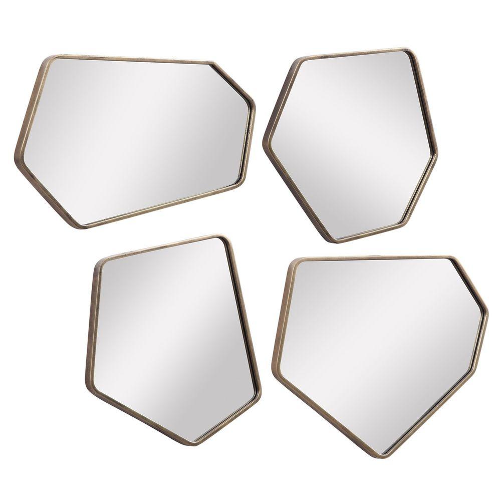 Uttermost Company - Linneah Modern Mirrors, Set/4
