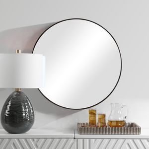 Thumbnail of Uttermost Company - Coulson Modern Round Mirror