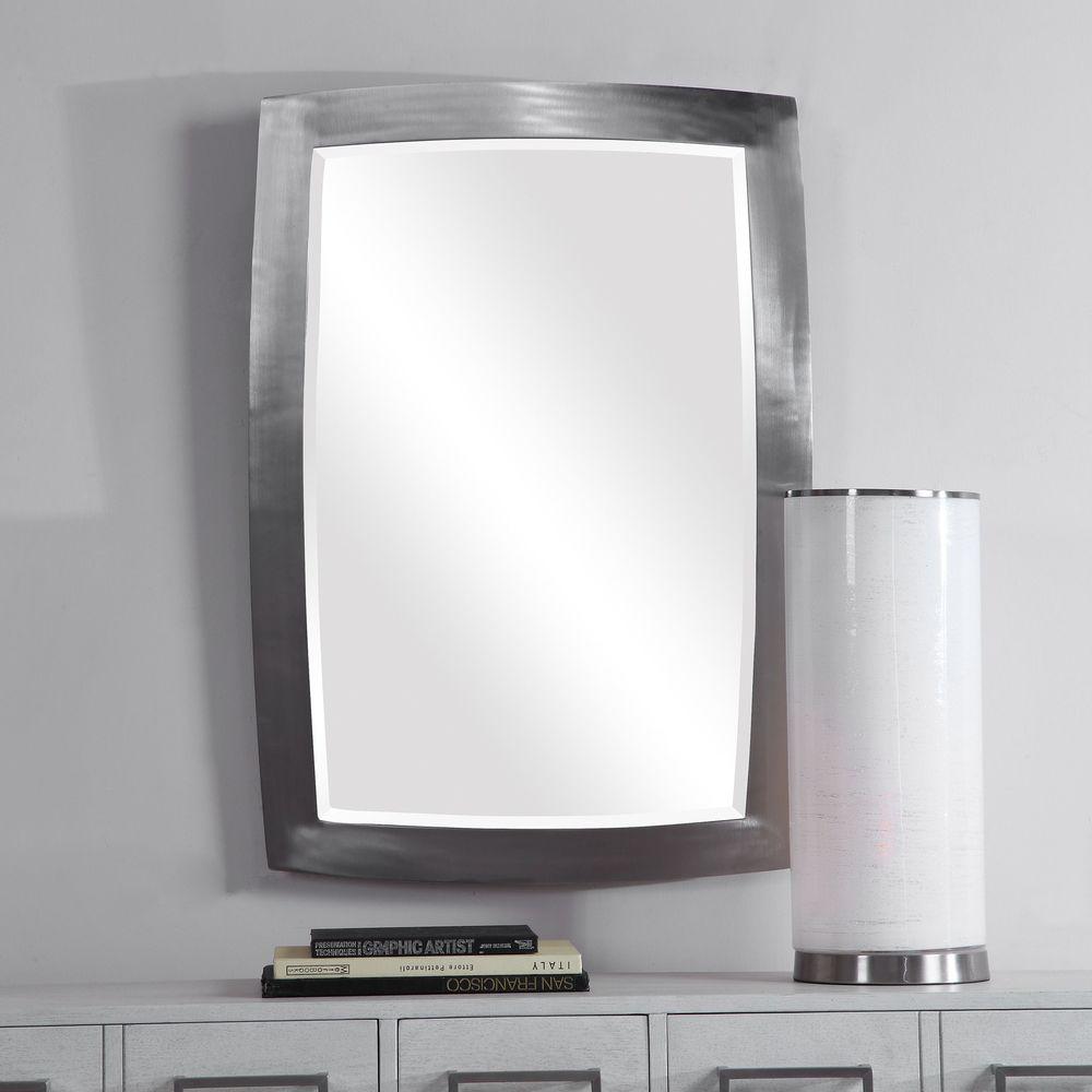 Uttermost Company - Haskill Brushed Nickel Mirror