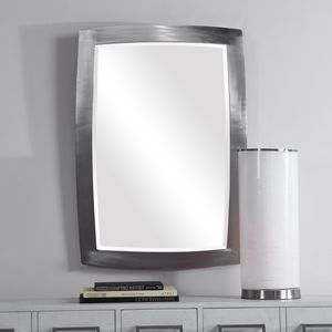 Thumbnail of Uttermost Company - Haskill Brushed Nickel Mirror