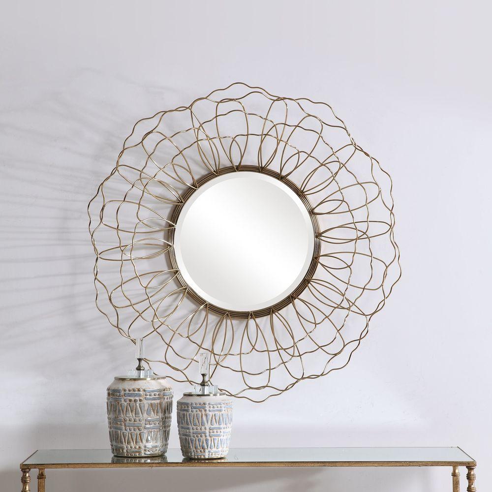 Uttermost Company - Rosie Round Mirror