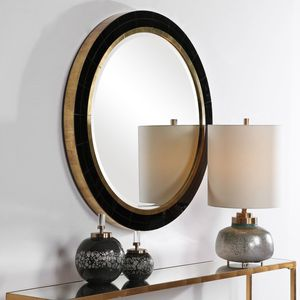 Thumbnail of Uttermost Company - Nayla Tiled Round Mirror