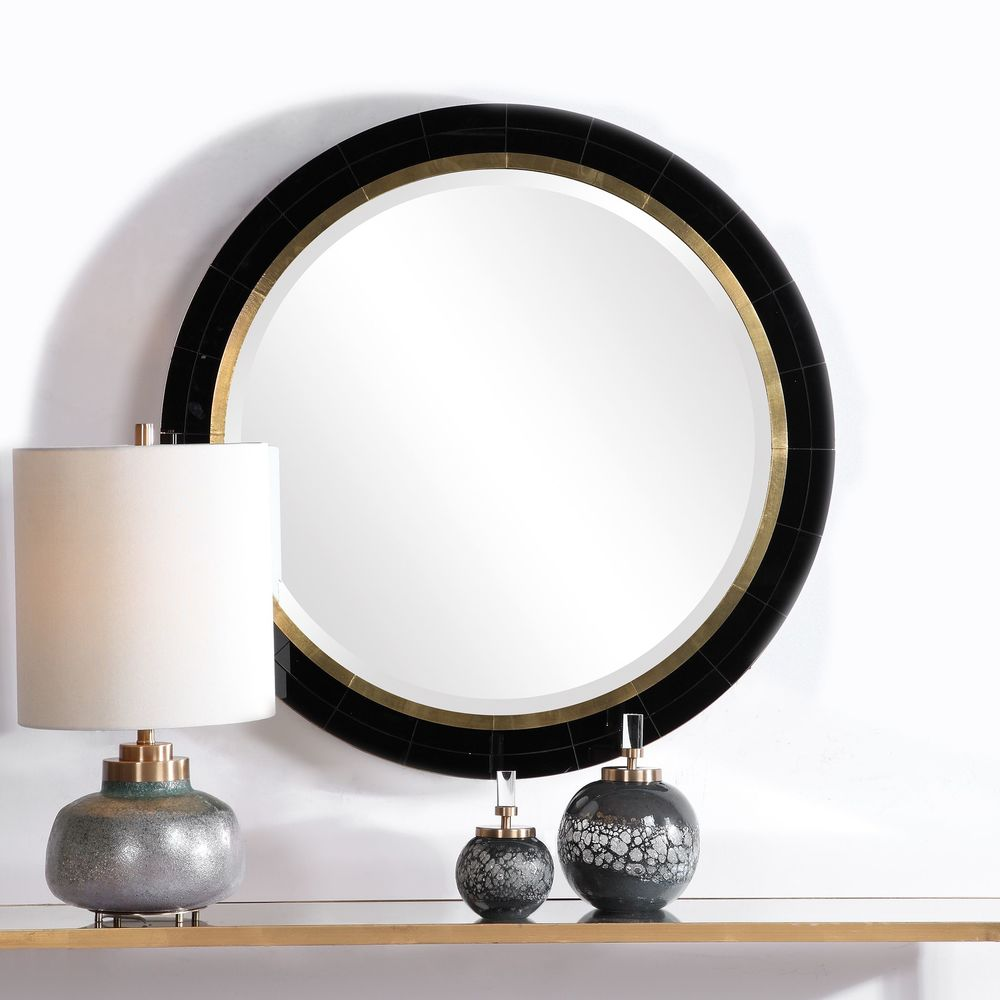 Uttermost Company - Nayla Tiled Round Mirror