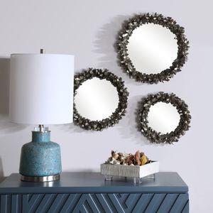 Thumbnail of Uttermost Company - Galena Round Mirrors, Set/3