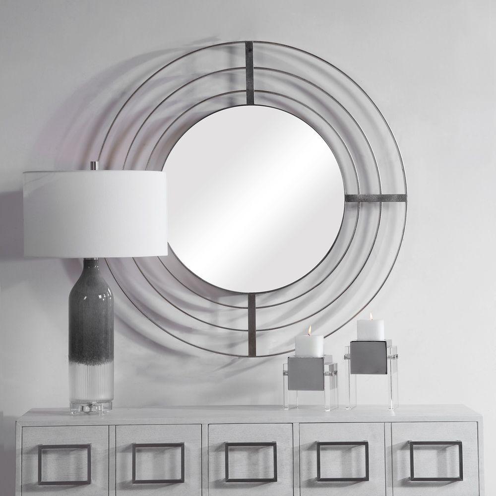 Uttermost Company - Bullseye Round Mirror