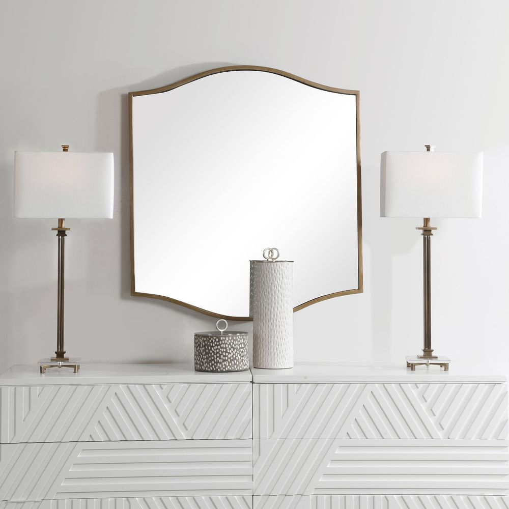 Uttermost Company - Cerise Gold Mirror