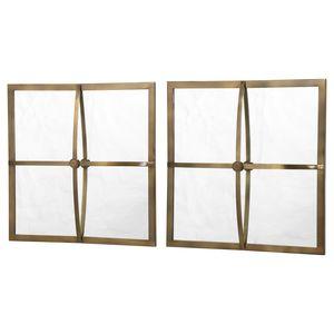 Thumbnail of Uttermost Company - Window Pane Mirror, Set/2