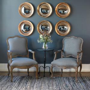 Thumbnail of Uttermost Company - Tropea Round Mirrors, Set/2