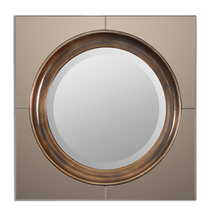 Thumbnail of Uttermost Company - Gouveia Square Mirror