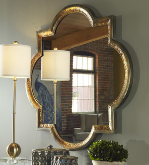 Thumbnail of Uttermost Company - Lourosa Gold Mirror