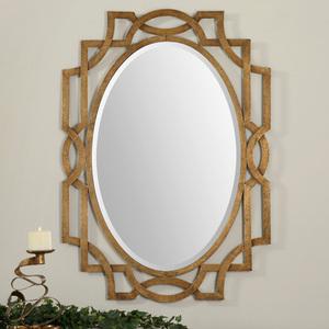 Thumbnail of Uttermost Company - Margutta Gold Oval Mirror