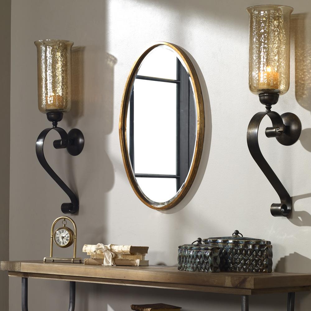 Uttermost Company - Herleva Oval Mirror