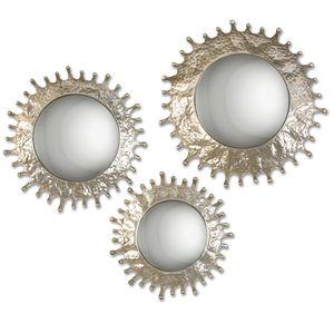 Thumbnail of Uttermost Company - Rain Splash Round Mirrors, Set/3