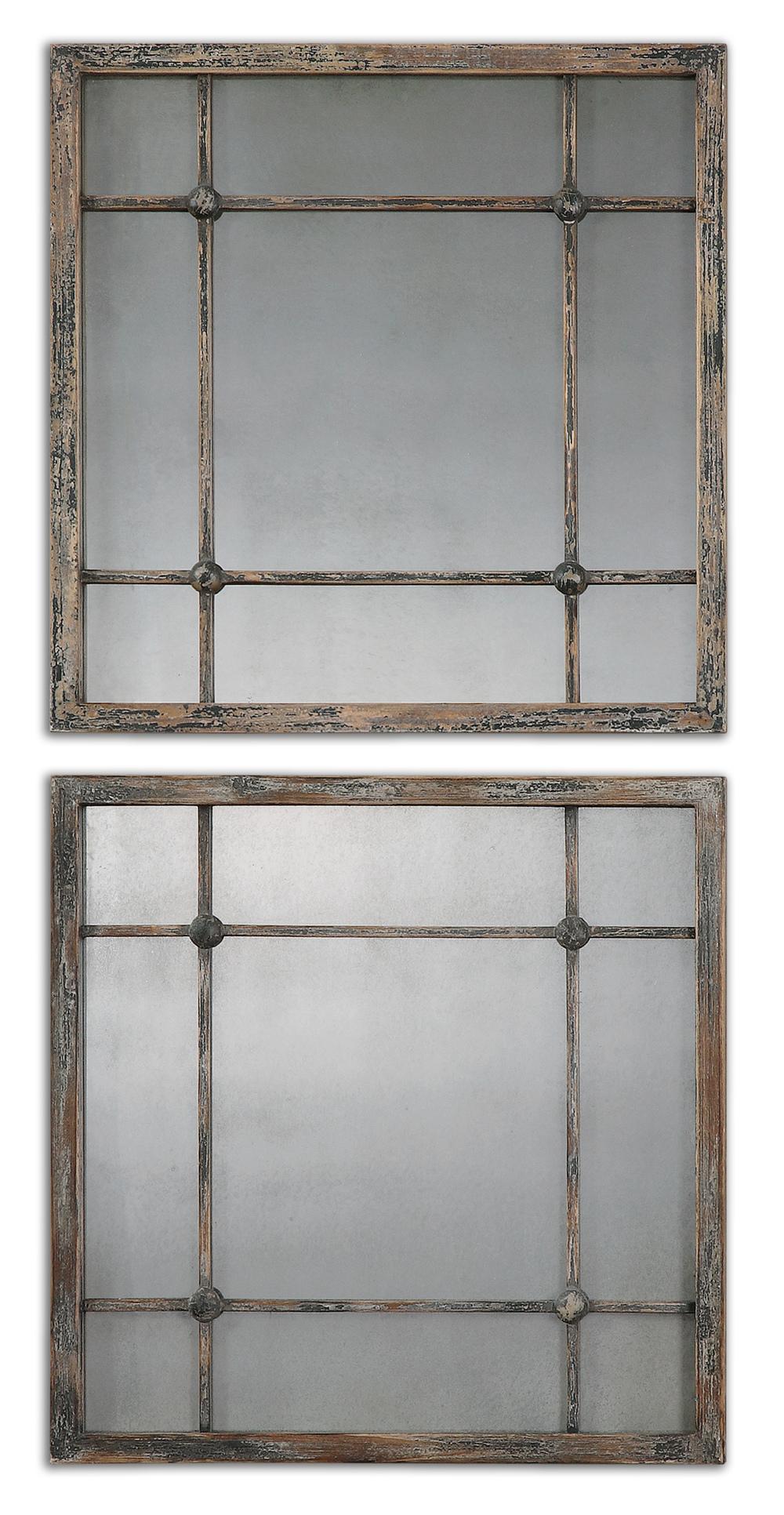 Uttermost Company - Saragano Square Mirrors, Set/2