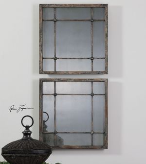 Thumbnail of Uttermost Company - Saragano Square Mirrors, Set/2