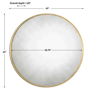 Thumbnail of Uttermost Company - Junius Round Mirror