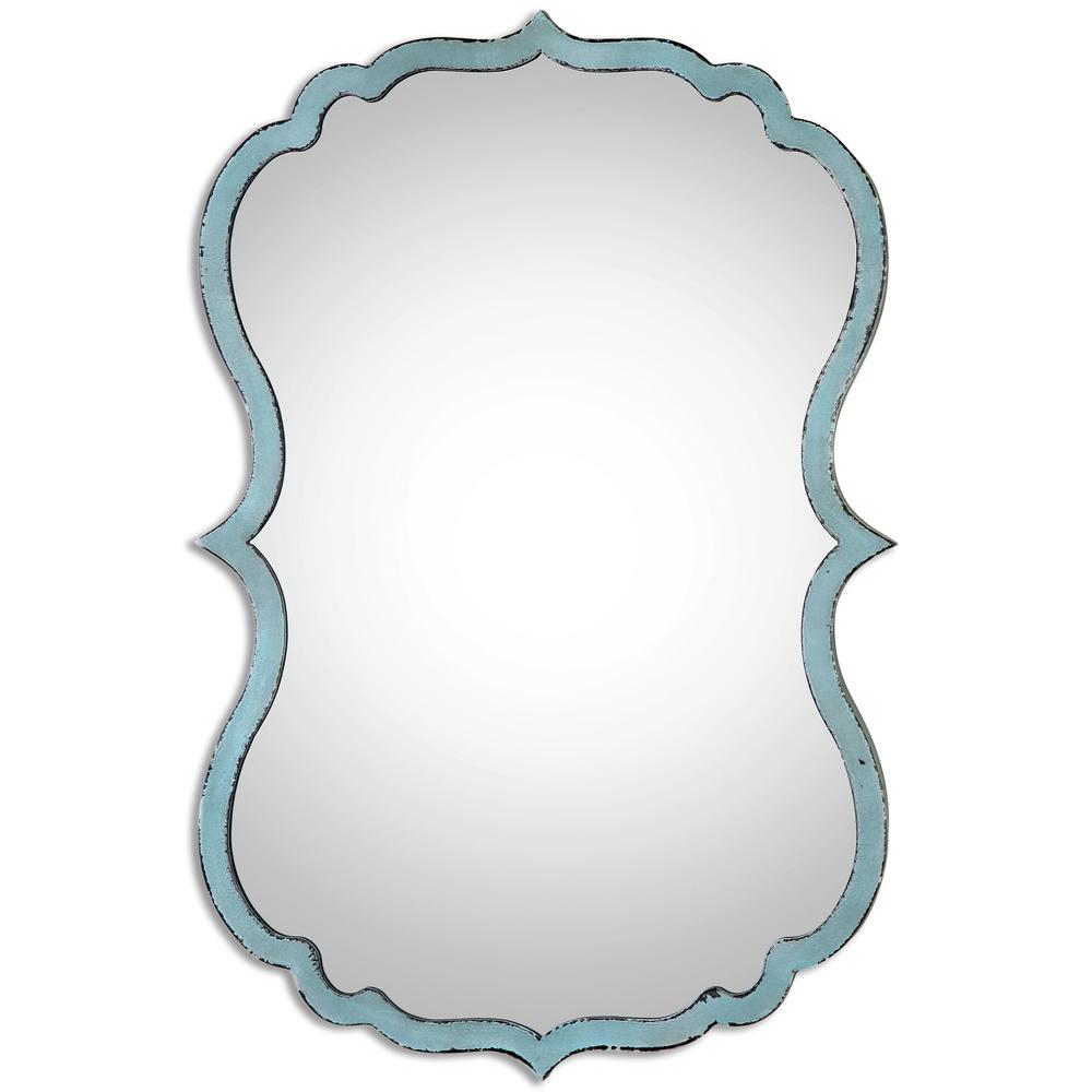 Uttermost Company - Nicola Light Blue Mirror
