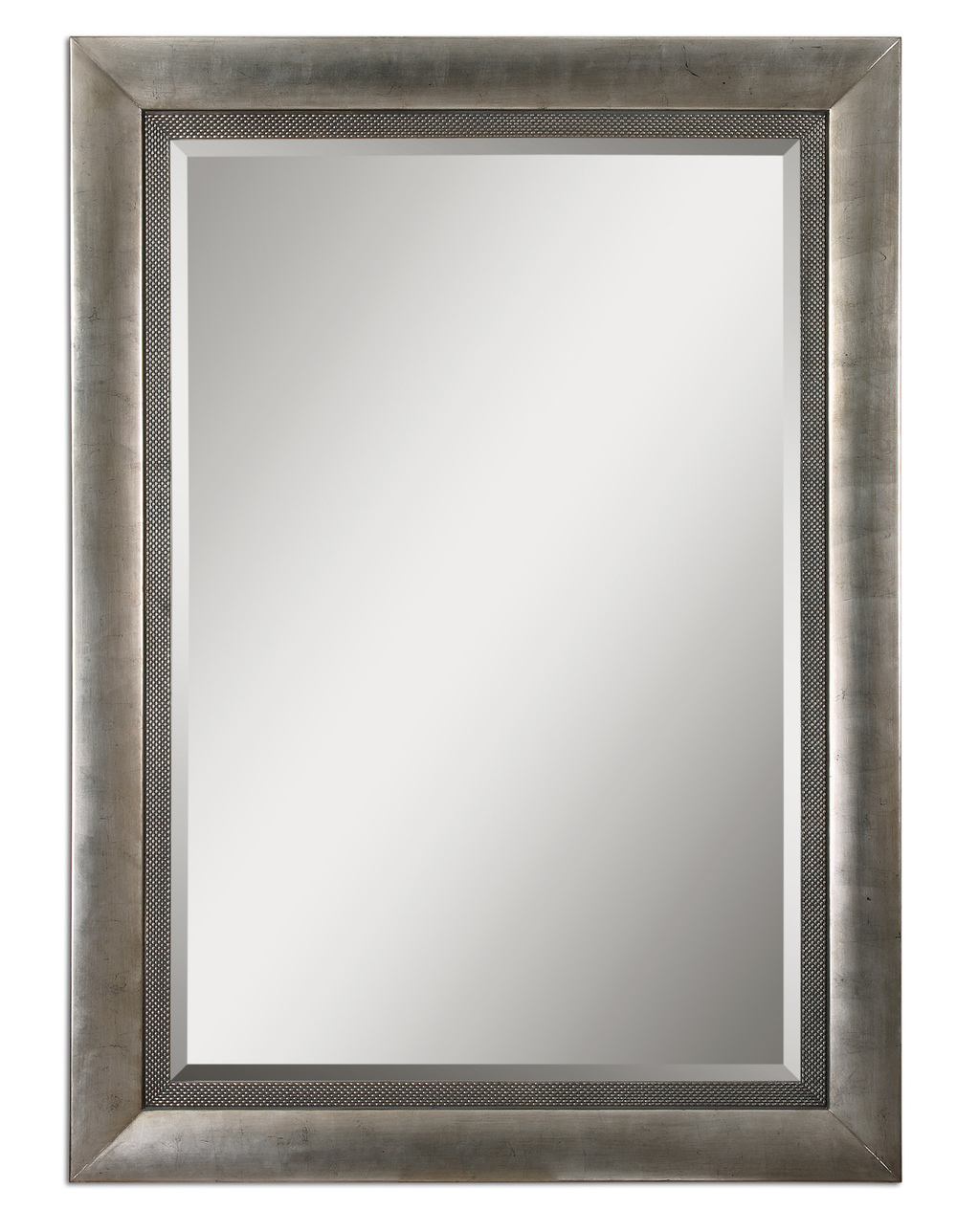 Uttermost Company - Gilford Antique Silver Mirror